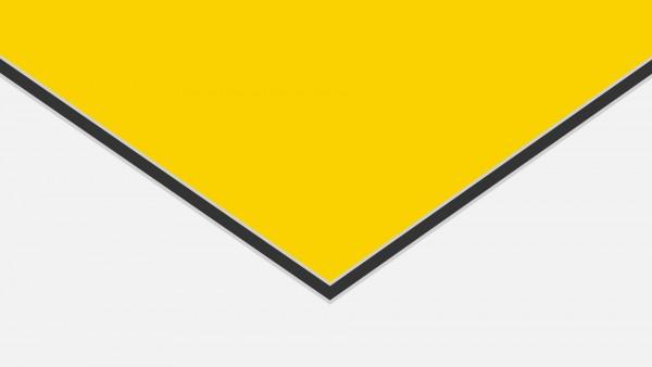 Alu-Verbund ALUCOM Gelb (ähnlich RAL 1023)