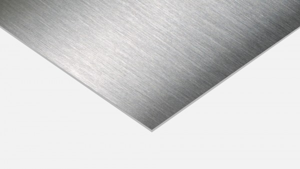 Edelstahlblech V2A geschliffen 1.4301