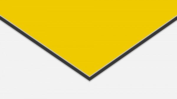 Alu-Verbund DIBOND ® Verkehrsgelb (RAL 1023)