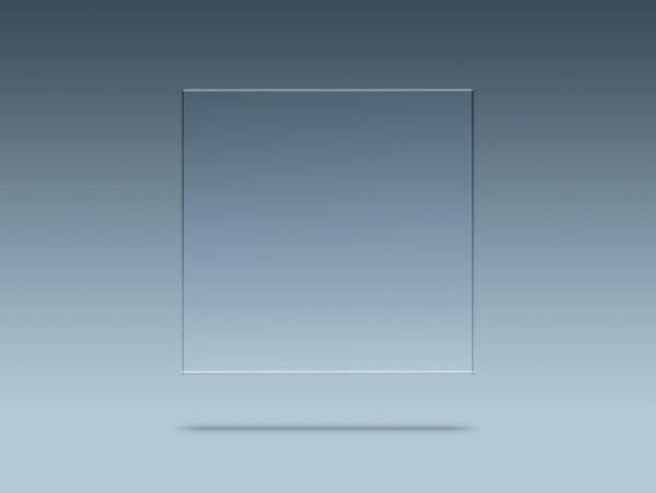 Acrylglas GS farblos - Kantenbearbeitung: Gelasert